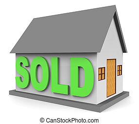 épület, bér, erőforrások, otthon, kiárusítás, 3, vakolás
