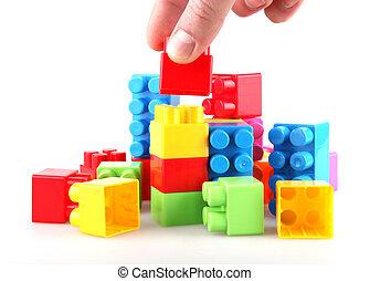 épület gátol, műanyag
