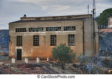 épület, ipari