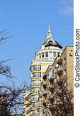 épület, kupola, hivatal