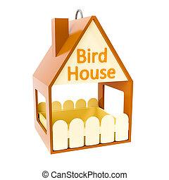 épület, madár, jellegzetes