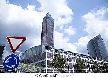 épület, modern ügy