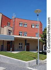 épület, modern
