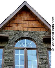 épület, otthon, ablak