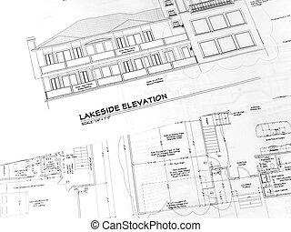 épület, plans-1