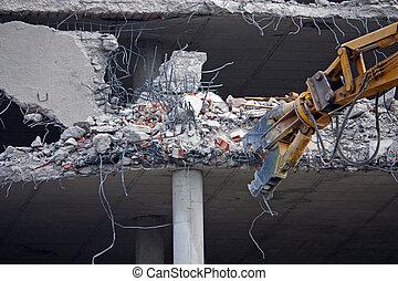 épület, pusztítás