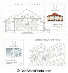 épület, részletes leírás, terv, építészeti