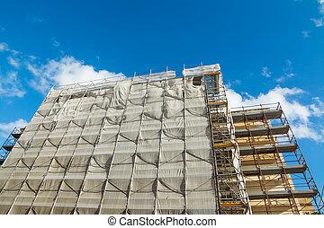 épület, restaurálás