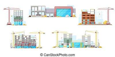 épület szerkesztés, tartózkodási, épület, házhely