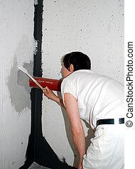 épület szobafestő