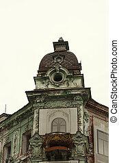 épület, történelmi, restaurálás
