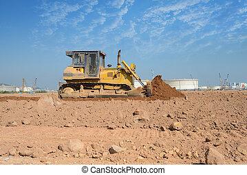 épület, talajgyalu, házhely