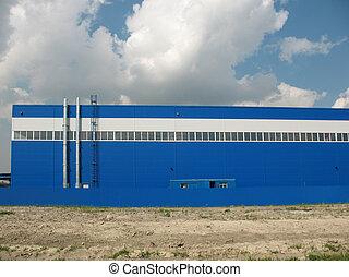 épület, termelés