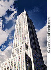 épület, város, állam, york, új, birodalom