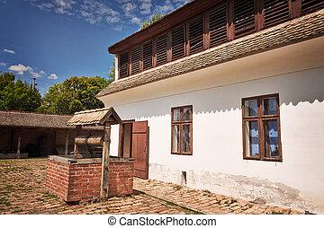 épület, villager's
