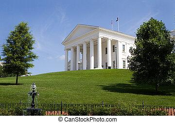 épület, virginia capitol