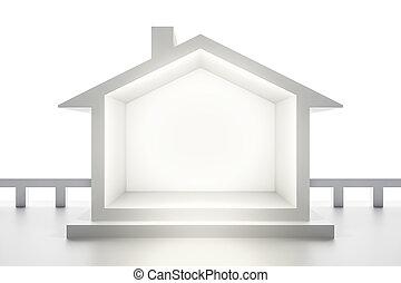 épület, white háttér