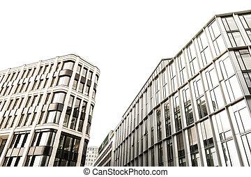 épület, windows, hivatal