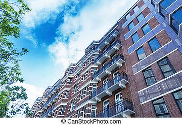 épületek, közül, új york város