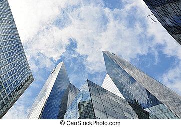 épületek, sokemeletes