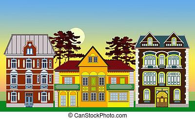 épületek, történelmi