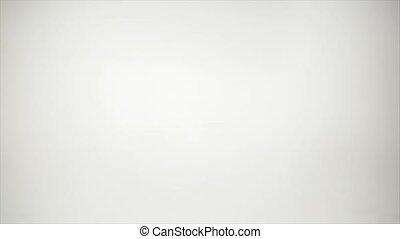épais, papier, pile, blanc, perspective
