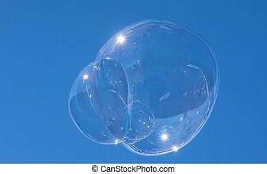 éphémère, bulle