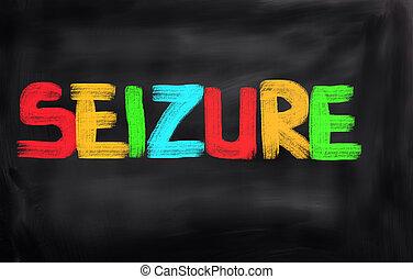 épilepsie, concept