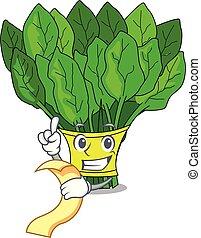 épinards, menu, légumes, caractère, frigidaire, frais