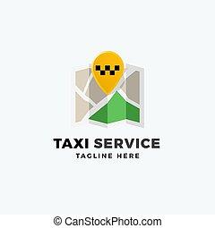 épingle, signe, emplacement, isolated., typography., point, logo, résumé, moderne, app, symbole, taxi, vecteur, service, carte, template., emblème, icône, ou