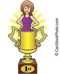 épouse trophy