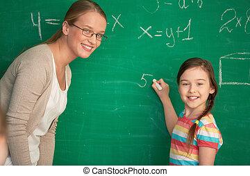 équation, résoudre