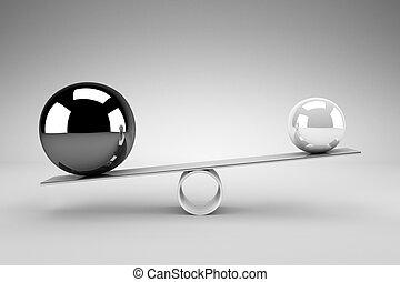 équilibre, concept