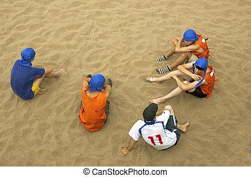 équipe foot