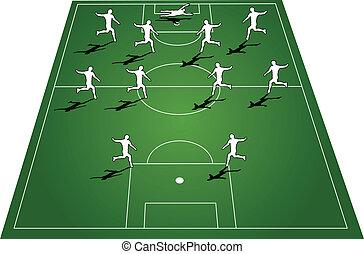 équipe, formation