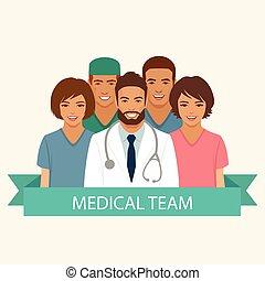 équipe soignant