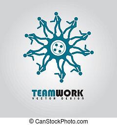 équipe travail