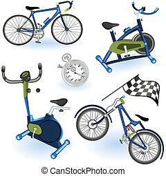 équipement, 2, sport, icônes
