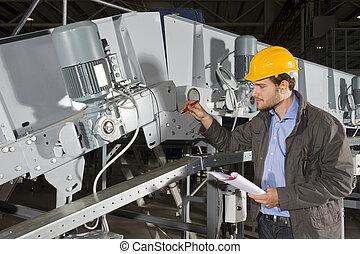 équipement, chèque