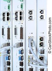équipement, datacenter., télécommunication