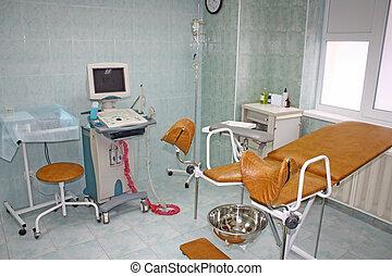 équipement, gynécologique