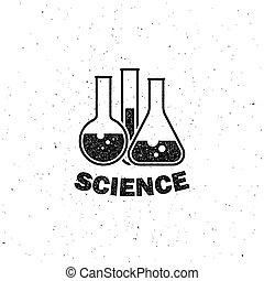 équipement laboratoire, étiquette