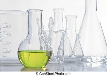 équipement laboratoire, verre