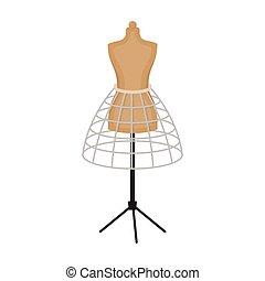 couture mannequin mesurer paules autour de sewing bande mannequin femme torse. Black Bedroom Furniture Sets. Home Design Ideas