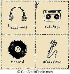équipement, musique