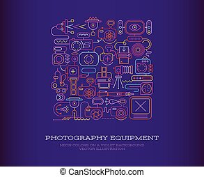 équipement, photographie