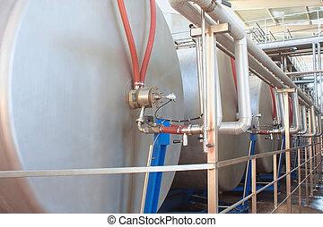 équipement, production, vin