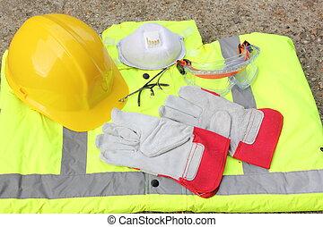 équipement, protection, personnel
