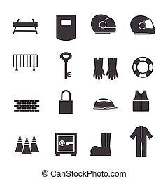 équipement, sécurité, outils