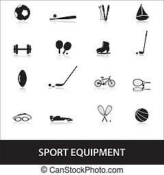équipement, sport, eps10